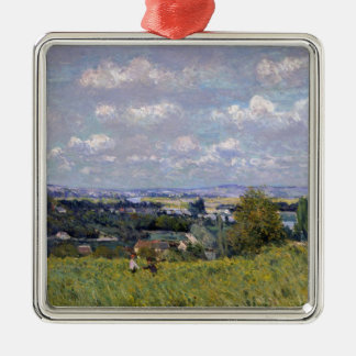 Alfred Sisley | Valley of the Seine at St-Cloud Metal Ornament
