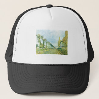 Alfred Sisley - Weg der Maschine 1973 Oil Canvas Trucker Hat