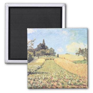 Alfred Sisley | Wheat Field Magnet