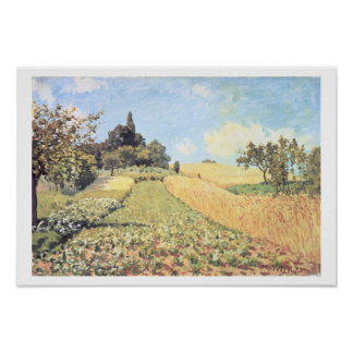Alfred Sisley | Wheat Field Poster