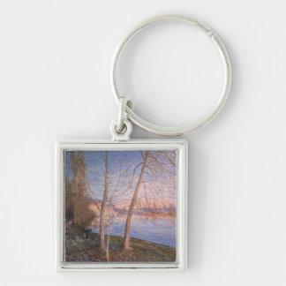 Alfred Sisley | Winter Morning Keychain
