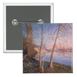 Alfred Sisley | Winter Morning Pinback Button