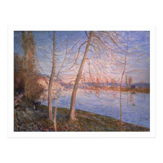 Alfred Sisley   Winter Morning Postcard