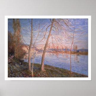 Alfred Sisley | Winter Morning Poster