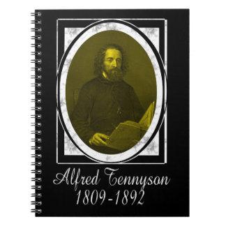 Alfred Tennyson Libro De Apuntes Con Espiral