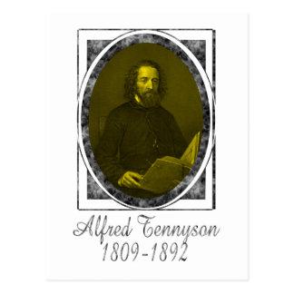 Alfred Tennyson Postales