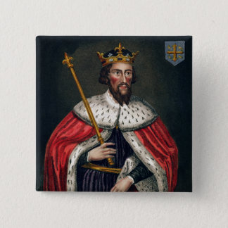 Alfred the Great (849-99), after a painting in the Pinback Button