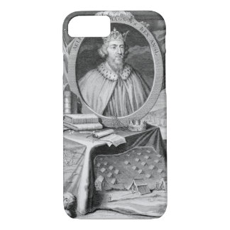 Alfred the Great (849-99) King of Wessex, engraved iPhone 8/7 Case