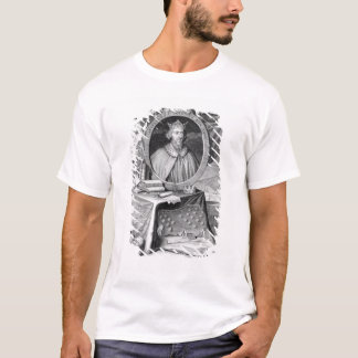 Alfred the Great (849-99) King of Wessex, engraved T-Shirt