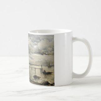 Alfred Wahlberg - Moonlight, Fjallbacka Coffee Mug