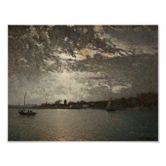 Alfred Wahlberg - Moonlight Mood, The Stockholm Poster