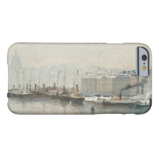 Alfred Wahlberg - Winter Landscape Over Skeppsbron Barely There iPhone 6 Case