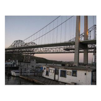 Alfred Zappa Memorial Bridge Post Card