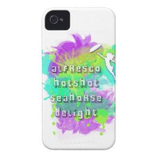 Alfresco Hotshot Seahorse Delight iPhone 4 Case-Mate Cases