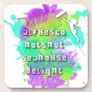 Alfresco Hotshot Seahorse Delight Coaster