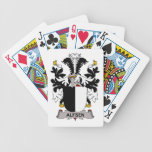 Alfsen Family Crest Playing Cards