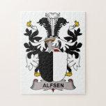 Alfsen Family Crest Puzzles