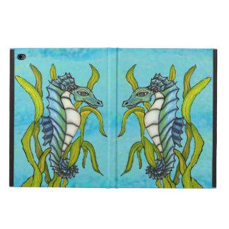 Alga marina azul del Seahorse del dragón del mar