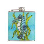 Alga marina azul del Seahorse del dragón del mar d