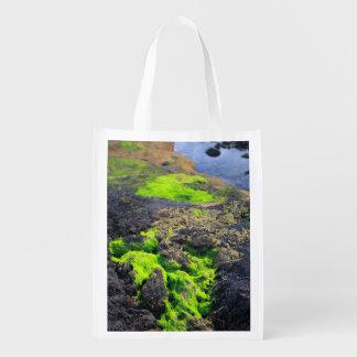 Alga marina bolsa reutilizable