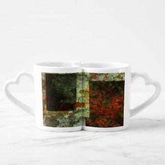 Algae and Rust Coffee Mug Set