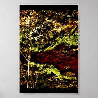 """""""Algae Canal Fallon"""" JTG Art Poster"""
