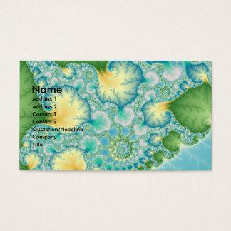 Algae - Fractal Business Card