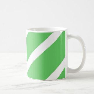 Algae Green Stripes Coffee Mug