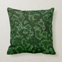Algae Lab Throw Pillow
