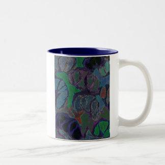 algae Two-Tone coffee mug