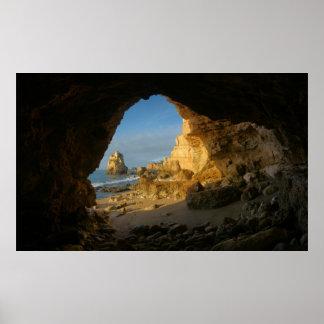 Algarve Cave Poster