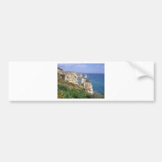 algarve coast bumper sticker