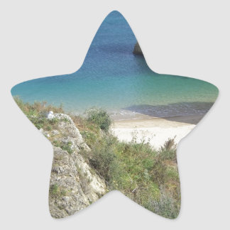 algarve coast star sticker