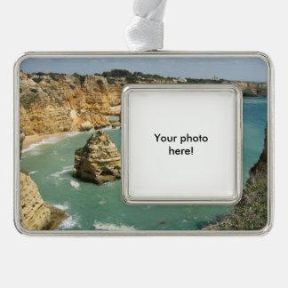 Algarve, Portugal, Benagil beach and rocks Ornament