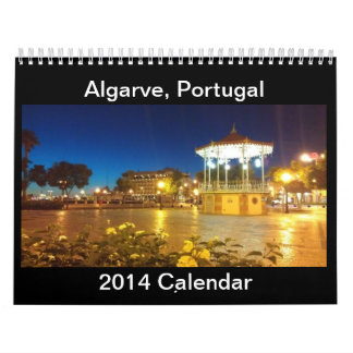 Algarve, Portugal Calendar 2014
