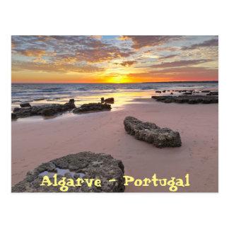 Algarve - Portugal. Summer season theme Postcard