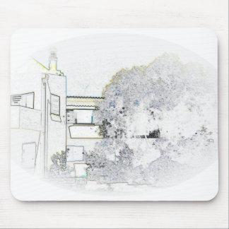 Algarve Villa Digital Sketch Mousepad