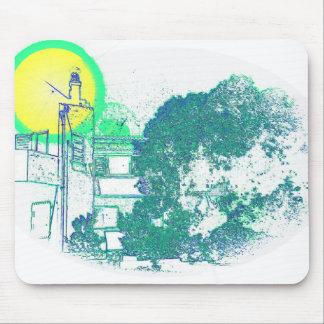 Algarve Villa Digital Sketch Mouse Pad
