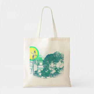 Algarve Villa Digital Sketch Tote Bag