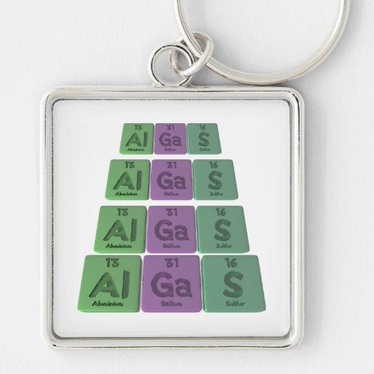 Algas-Al-Ga-S-Aluminium-Gallium-Sulfur Keychain