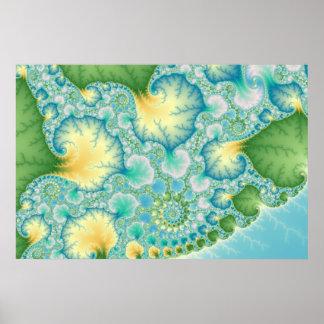 Algas - fractal impresiones