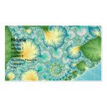 Algas - fractal tarjetas de visita
