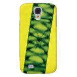 Algas verdes de Spirogyra Funda Samsung S4