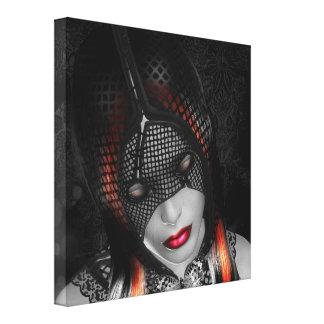 Algea Goddess Of Sorrow Gallery Wrap Canvas