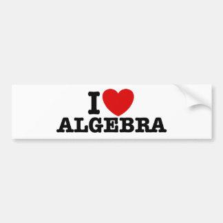 Algebra Car Bumper Sticker