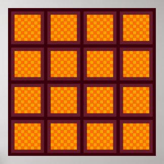 Álgebra del tablero de ajedrez impresiones