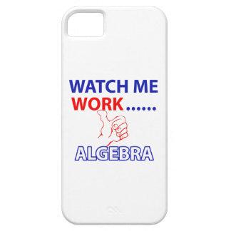 ALGEBRA design iPhone SE/5/5s Case