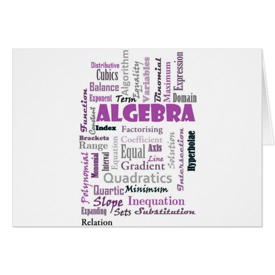 Algebra_Display_Purple Card