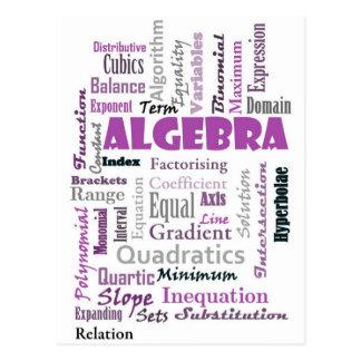 Algebra_Display_Purple Postal