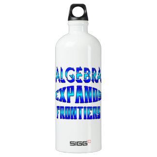 Algebra Expands Frontiers Aluminum Water Bottle